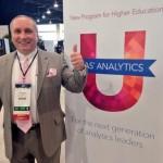 SGF 2014 - Kirk Paul Lafler at the SAS Analytics Booth